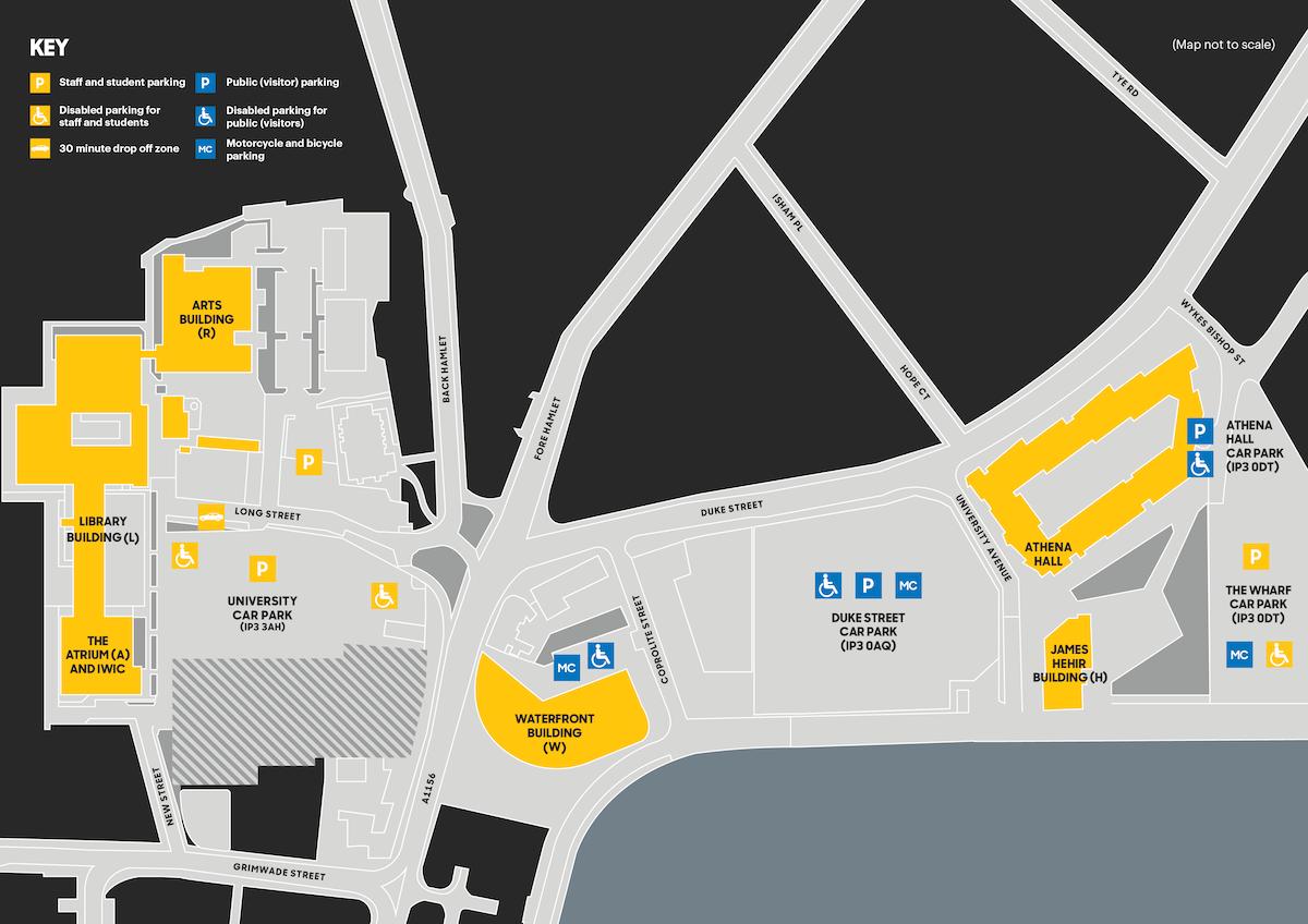 suffolk university campus map Maps suffolk university campus map